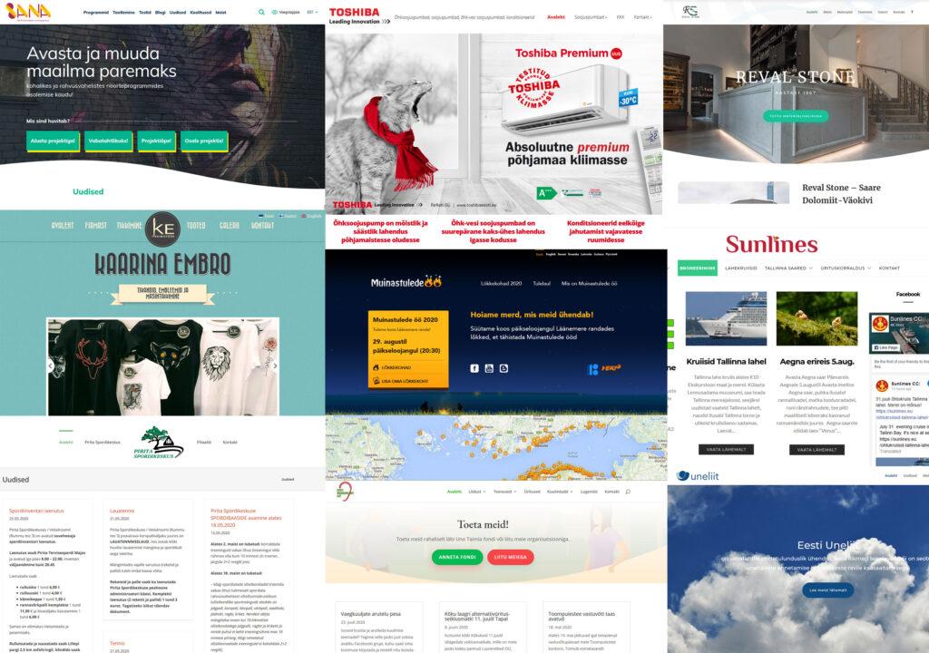 Klientide veebid